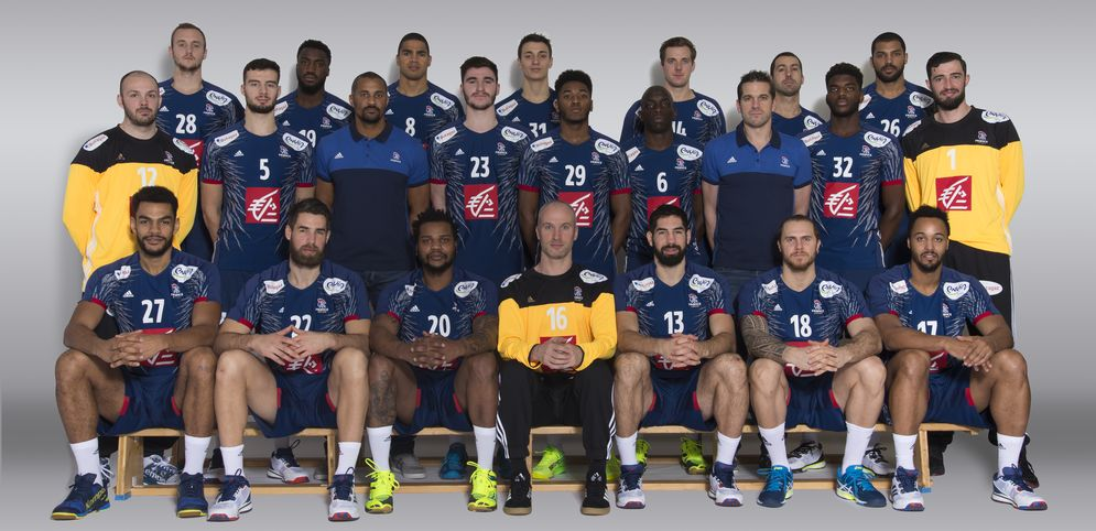Ракометна репрезентација на Франција