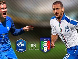 Франција - Италија
