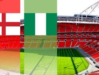 Англија - Нигерија
